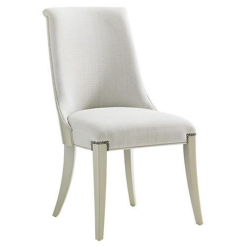 Santo Side Chair, Ivory
