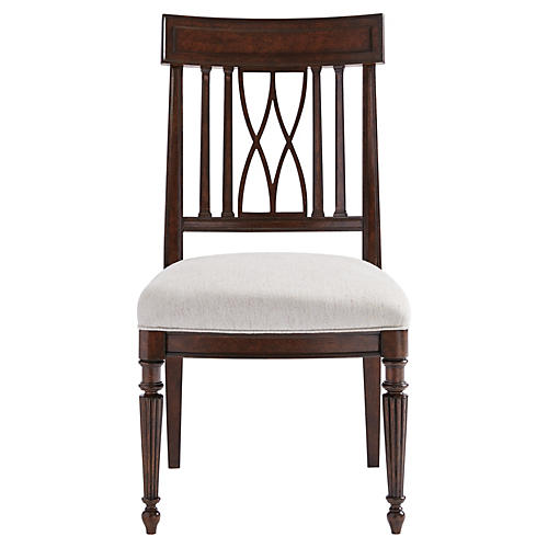 Lacina Side Chair, Espresso