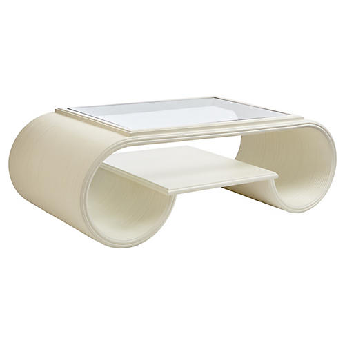 Legacy Park Coffee Table, White