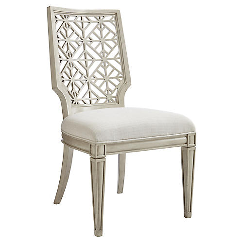 Catalina Side Chair, Lt. Gray