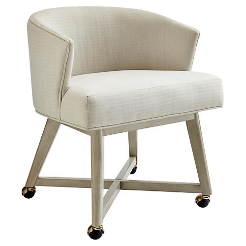 Carlyle Accent Chair, Lt. Gray