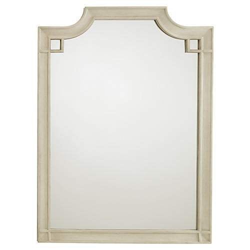 Silver Lake Vertical Mirror, Lt. Gray