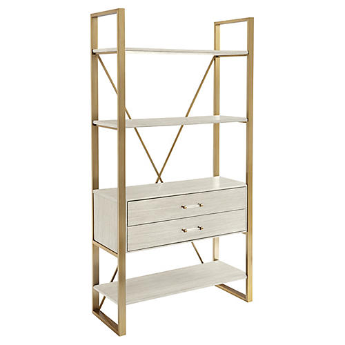 metal bookcases bookcases tagres living room furniture one kings lane
