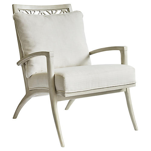 Catalina Accent Chair, Lt. Gray