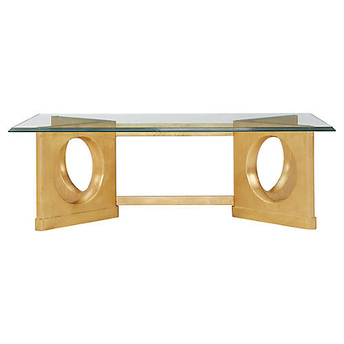 Virage Coffee Table, Gold
