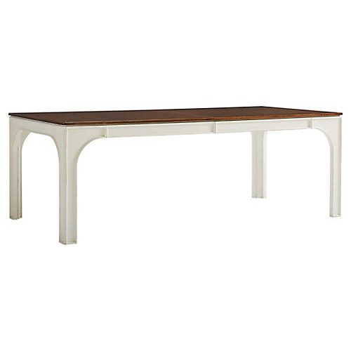Concordia Dining Table, Finca White