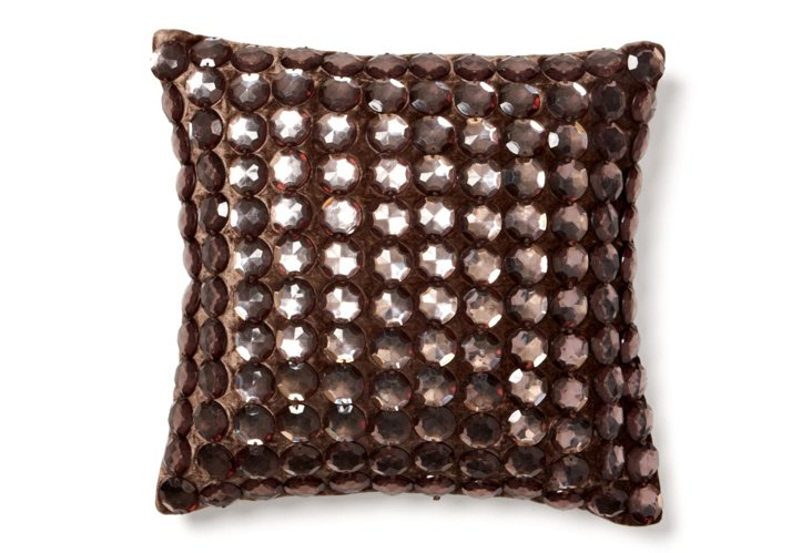 Stones 12x12 Pillow, Gray