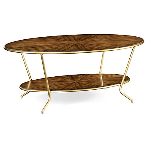 Argentinian Coffee Table, Gold