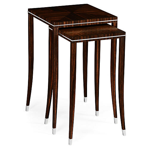 Espresso Soho Nesting Tables, Set of 2