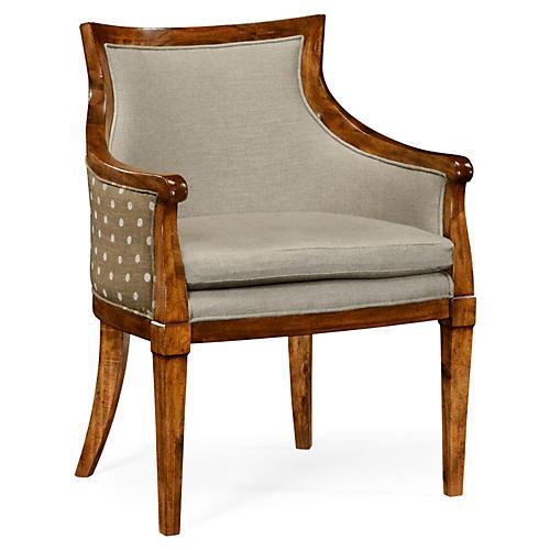 Belton Armchair, Gray