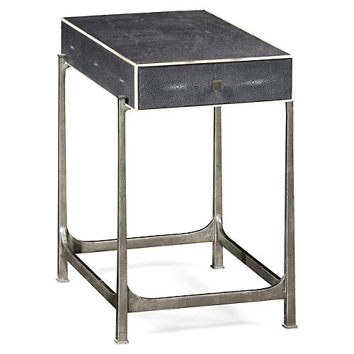 Deric Side Table, Gray