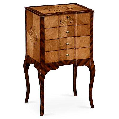 Raised Dresser, Rosewood/Satinwood