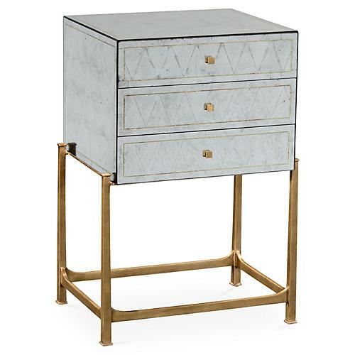 High Gilded Dresser, Églomisé