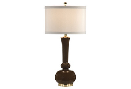 Rhiannon Table Lamp, Espresso