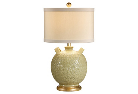 Astrid Table Lamp, Yellow
