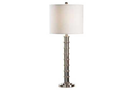 Ginger Table Lamp, Silver