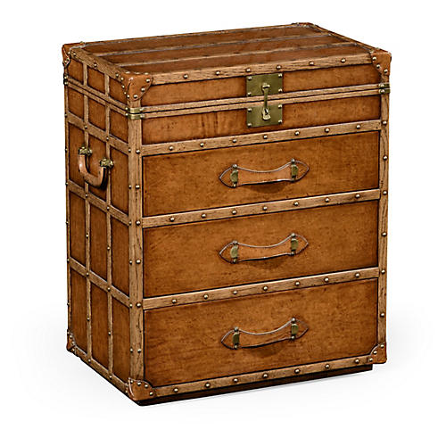 Steamer 3-Drawer Dresser, Chestnut
