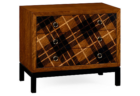 Tartan 3-Drawer Dresser, Walnut*