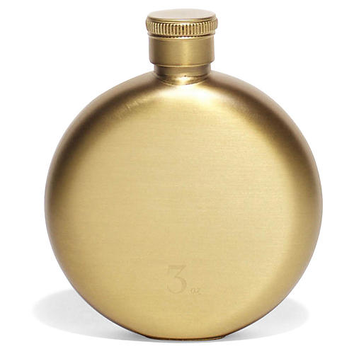 Benton Flask, Brass