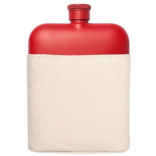 Zoi Flask & Carrier Set, Red