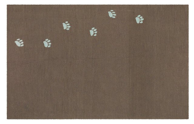 Toby Outdoor Rug, Cocoa Brown