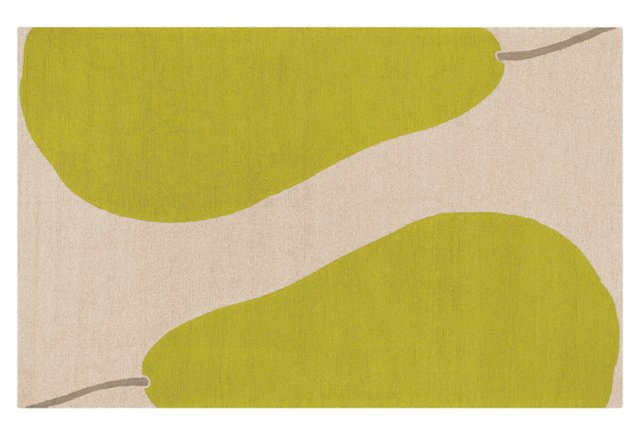 Bartlett Outdoor Rug, Beige/Green