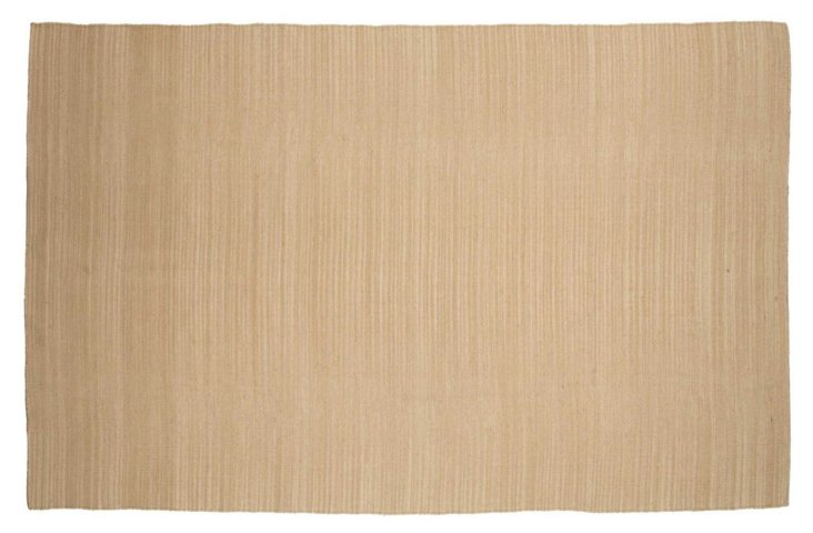 8x10 Taylor Flat-Weave Rug, Soft Gold