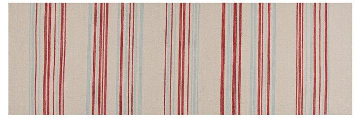 "2'6""x8' Rosie Flat-Weave Runner, Multi"