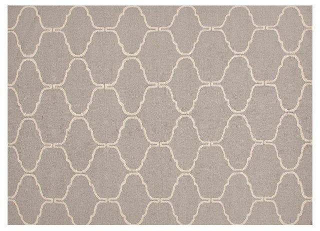 Serra Rug, Warm Gray/Linen