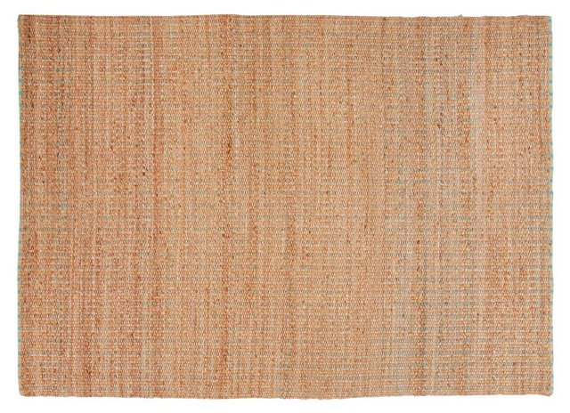 Carey Jute-Blend Rug, Terracotta