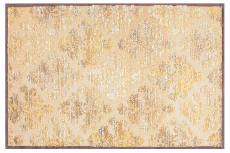 """5'x7'6"""" Chaucer Rug, Brown/Tan/Gold"""