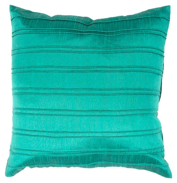Horizon 18x18 Pillow, Teal