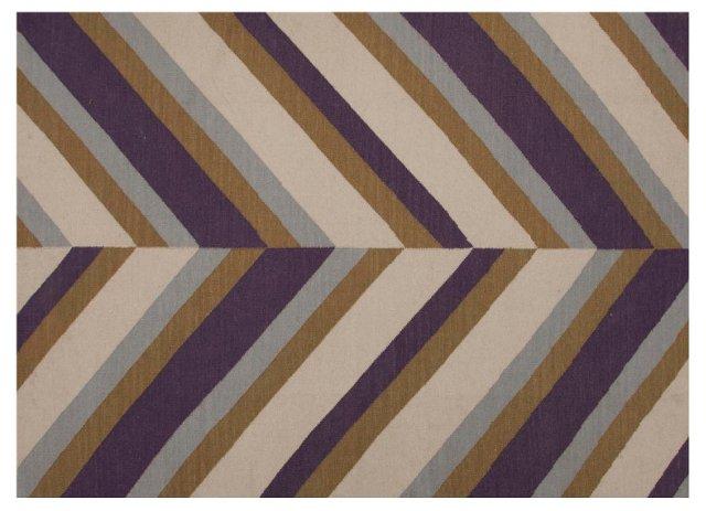 2'x3' Shea Hemp-Blend Rug, Green/Natural