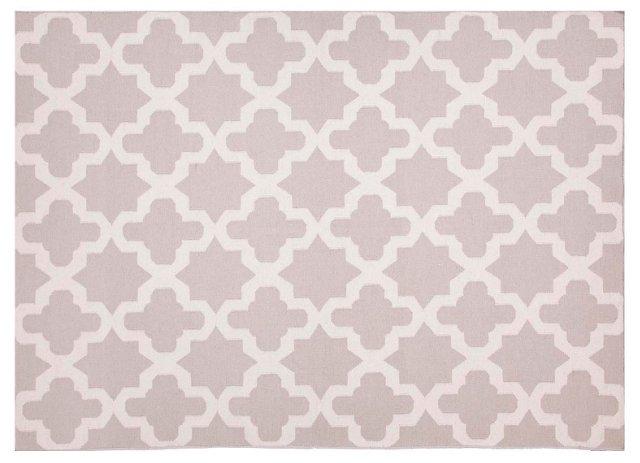 Hanson Flat-Weave Rug, Gray