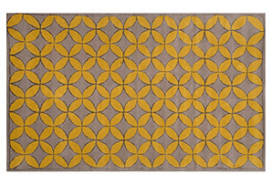 Hunter Rug, Ashwood/Gold