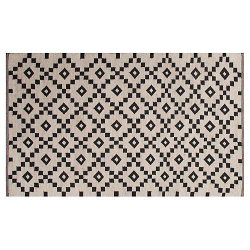 Blakely Flat-Weave Rug, Ivory