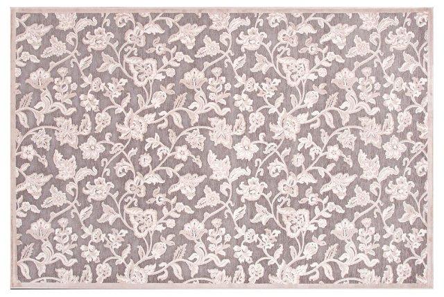 Kobuk Rug, Gray/Ivory