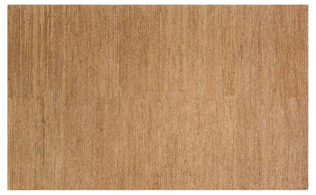 Handler Flat-Weave Hemp Rug, Tan