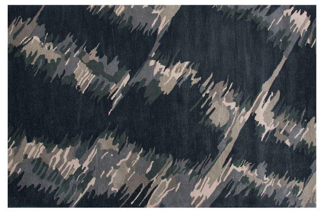 Layal Rug, Dark Gray