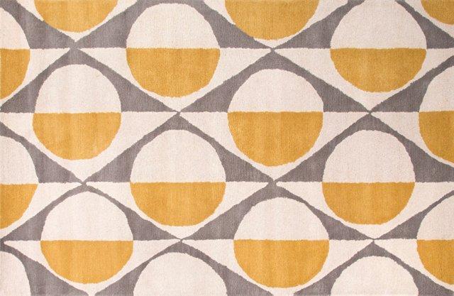 Uliana Rug, Yellow/Gray
