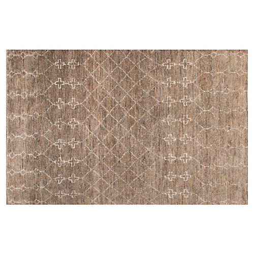 Montana Jute-Blend Rug, Natural/Gray