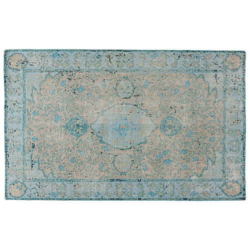 Admiral Rug, Gray/Silver