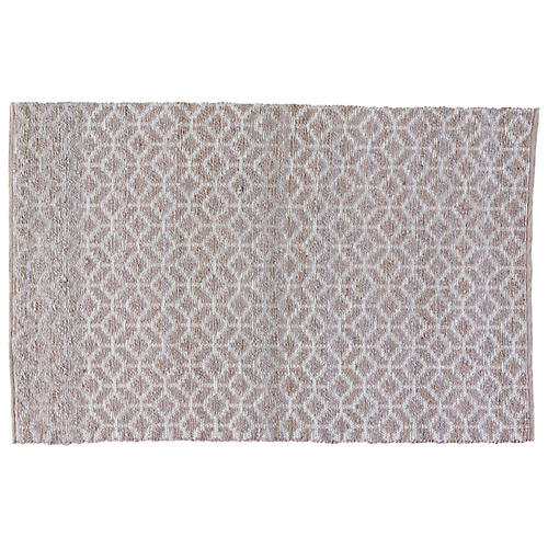 Banyer Jute-Blend Rug, Gray/Silver