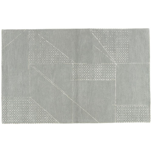 Accompong Rug, Light Gray