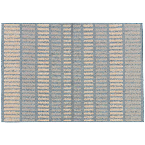 Santa Cruz Outdoor Rug, Blue