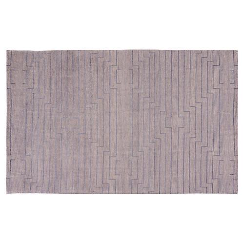 Advaney Rug, Light Gray/Silver