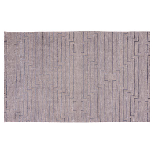 Advaney Rug, Light Gray/Silver