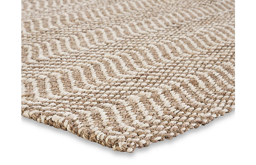 Tracht Jute Rug Taupe White One Kings Lane