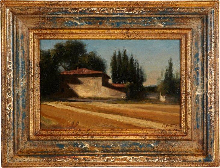 House Near Rove Oil Painting