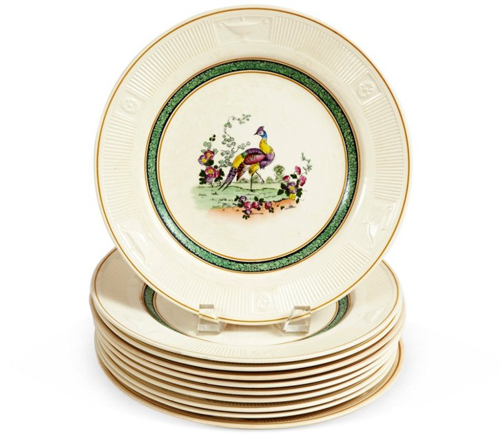 Collectable Dinner Plates, Set of 10
